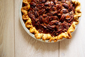 "Dark Chocolate Pecan Pie (10"") - Black Jet Baking Co."