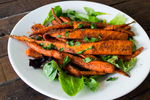 Chermoula Roasted Carrots
