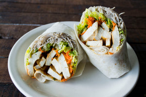 Korean BBQ Tofu Wrap