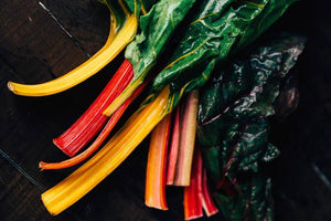 Rainbow Chard (bunch) - Happy Boy Farm