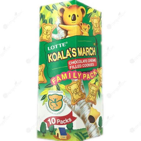 Koalas March Chocolate Flavor Family Pack Large 考拉餅乾巧克力味大瓶裝