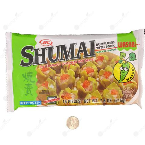 Dumplings with Pork and Wasabi Shumai 15pcs