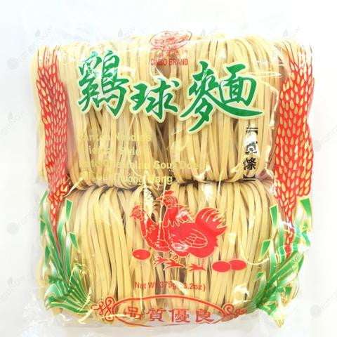 Chicken Flavored Dried Noodles (Thick) 雞球面 (寬條)