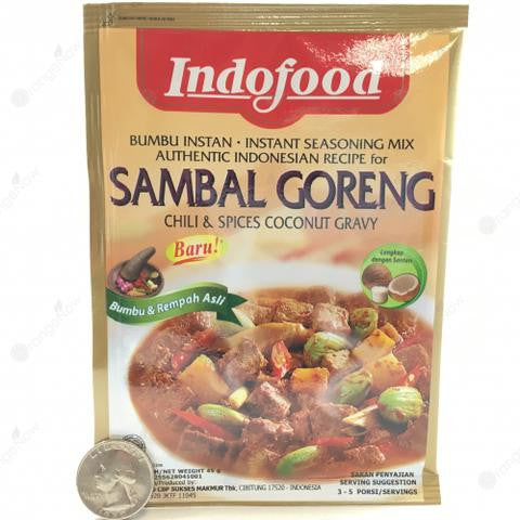 Sambal Goreng Ati (Chili and Spices Coconut Gravy)