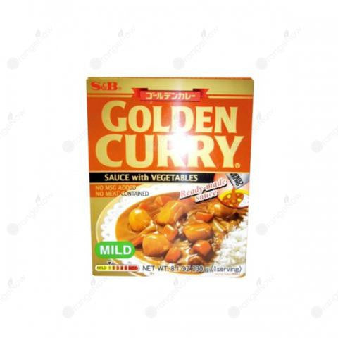 S&B Golden Curry Ready-Made Sauce With Vegetables(Mild)