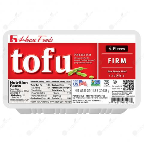 House Firm Tofu (Gluten Free)