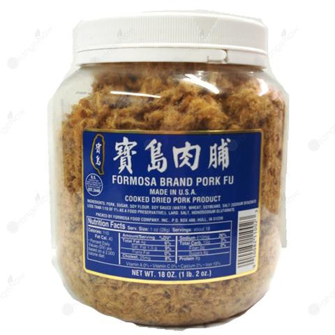 Formosa Shredded Pork Fu 1.2LB 寶島肉脯 520g (大罐)