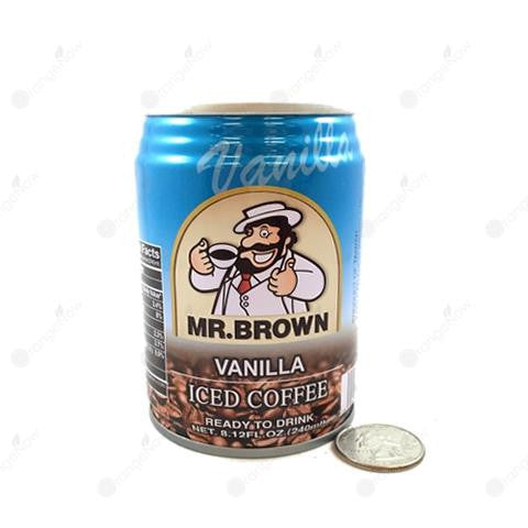 Mr.Brown Vanilla Iced Coffee 香草味冰咖啡