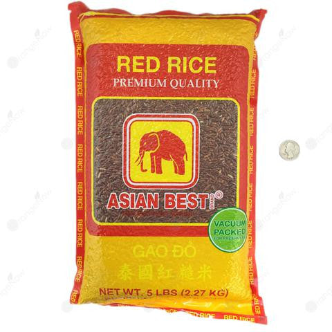 Thai Red Rice 5LB 泰國紅糙米 5LB
