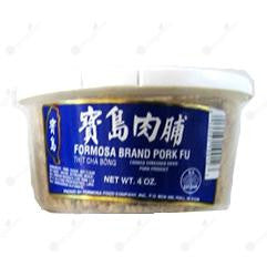 Formosa Shredded Pork Fu (Small) 寶島肉脯 120g (小罐)