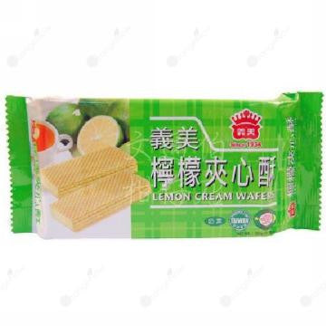 Imei Lemon Cream Wafers 義美檸檬夾心酥