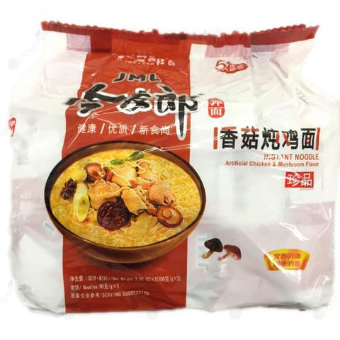 Chicken and Mushroom Flavor Noodle 今麥郎香菇雞面