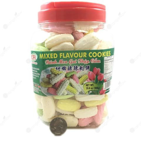 Mixed Flavor Cookies
