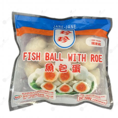 Fish Ball with Roe 珍珍 魚包蛋