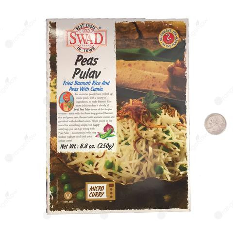 Fried Basmati Rice and Peas with Cumin (Peas Pulav) 8.80oz
