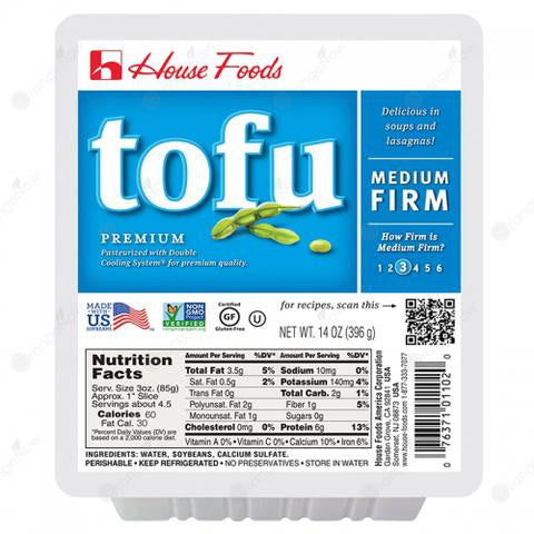 House Regular Tofu (Gluten-Free) 日本滑豆腐