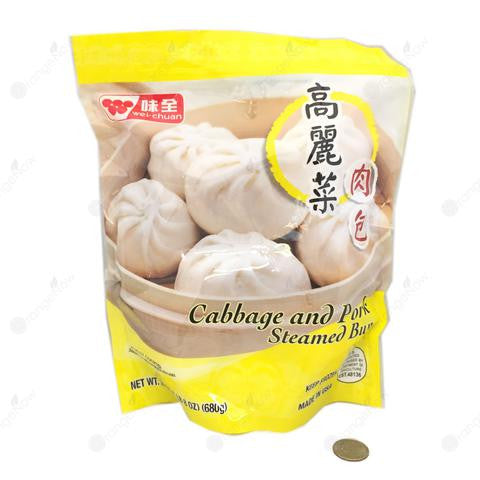 Cabbage & Pork Steamed Buns (Microwaveable) 味全 高麗菜肉包