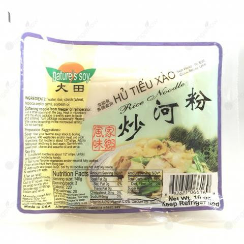 Natures Soy Rice Noodle 大田炒河粉