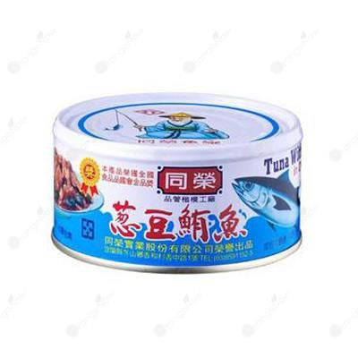 Old Fisherman Tuna with Vegetable in Dressing Sauce 同榮蔥豆鮪魚 185g/罐