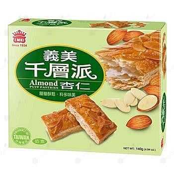 IMei Almond Puff Pastry 義美千層派 (杏仁) 80g