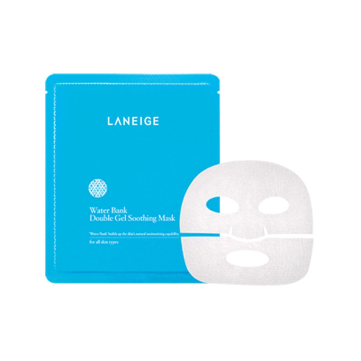 Water Bank Double Gel Soothing Mask EX