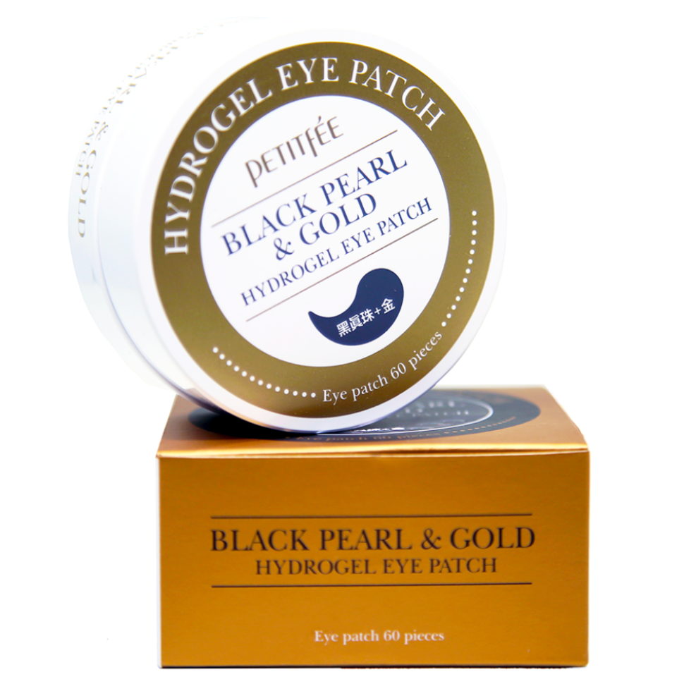 Black Pearl & Gold Hydrogel Eyepatch