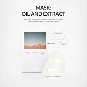 Secret of Sahara Mask : Oil and Extract