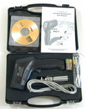 CEM DT-8867H Professional 30:1 IR Laser Thermometer up to 3002 deg F 1650 deg C Type K Thermocouple with USB Interface