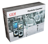 CEM DT-9881 HCHO CO Detector Air Particle Counter with Color LCD Display and Camera