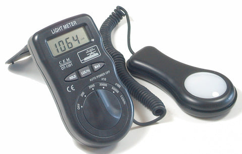 CEM DT-1301 Digital LCD Light Meter Lux Foot-candle Luxmeter