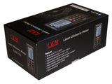 CEM iLDM-150 0.2 to 229 ft Professional High Precision Laser Distance Meter with iPhone Bluetooth and Tilt Sensor NEW!!