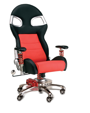 LXE Office Chair Red
