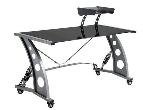 GT Spoiler Office Desk Black