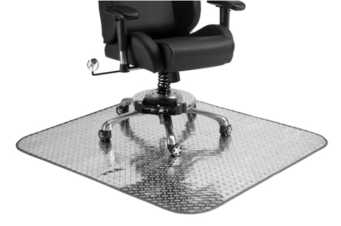 Pit Stop Furniture Diamond Plate Chair Mat
