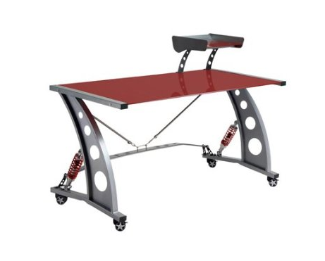 GT Spoiler Office Desk Red