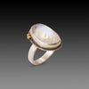 Organic Rainbow Moonstone Ring
