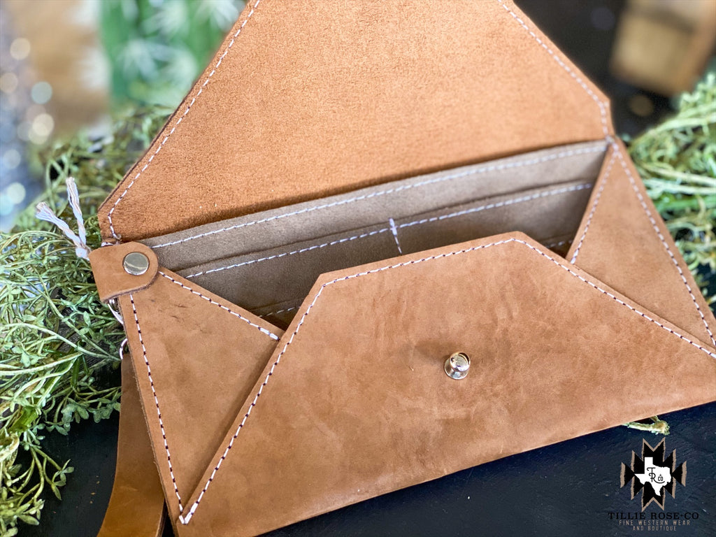 Envelope Clutch/Wallet - The Tillie Rose Boutique