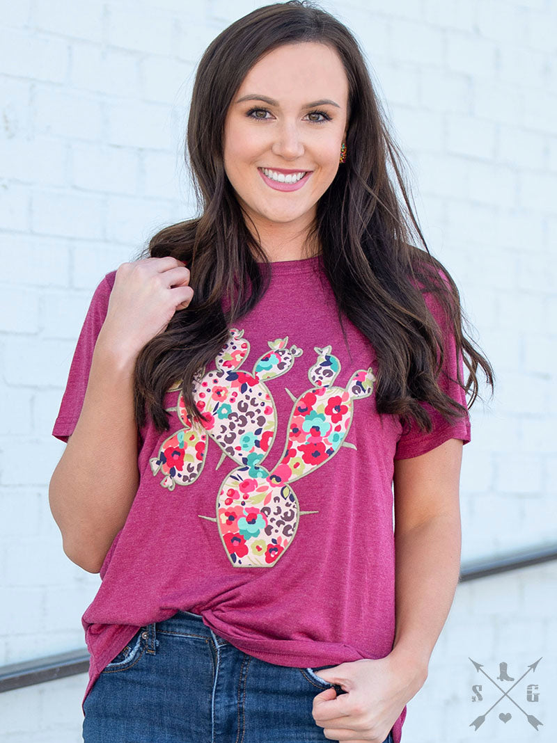 The Perfect Prickly Pear Tee - The Tillie Rose Boutique