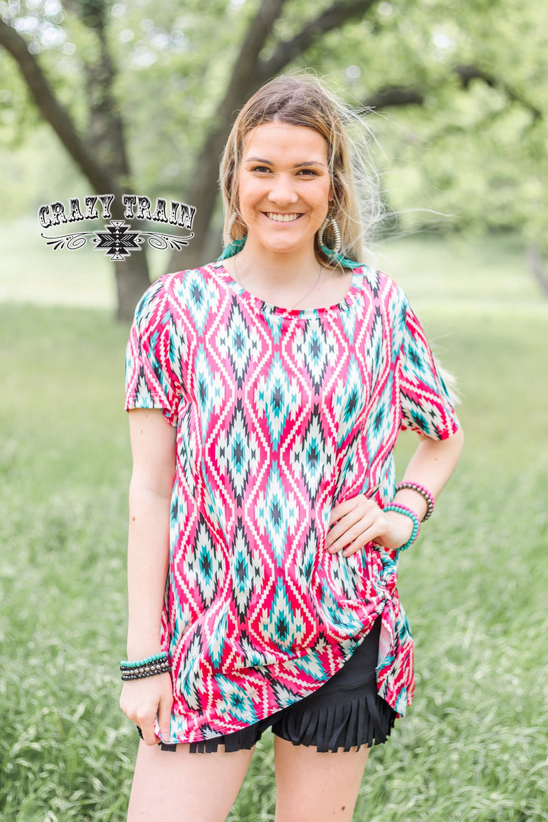 90's Rodeo Knot Top - The Tillie Rose Boutique