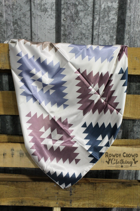 Abilene Aztec Wild Rag - The Tillie Rose Boutique