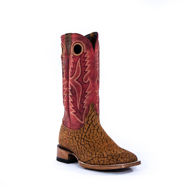 Men's Joaquin Square Toe Boot in Rust - The Tillie Rose Boutique