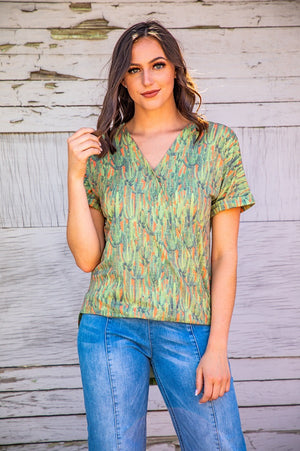 Summer Saguaro Top - The Tillie Rose Boutique