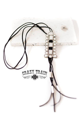 Blazing Trail Bolo Necklace - The Tillie Rose Boutique