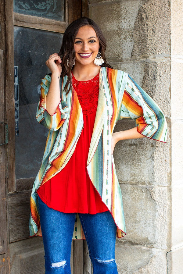 Salado Serape Kimono - The Tillie Rose Boutique