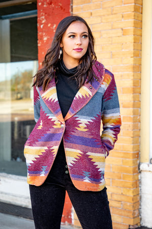 The Maverick Wool Jacket - The Tillie Rose Boutique