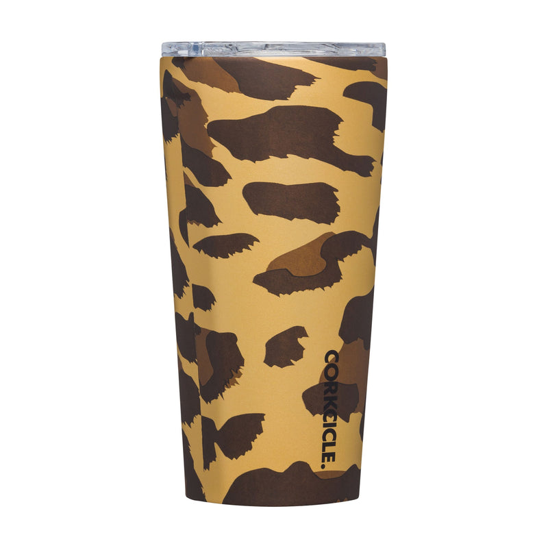 Corkcicle 16oz Leopard Tumbler - The Tillie Rose Boutique