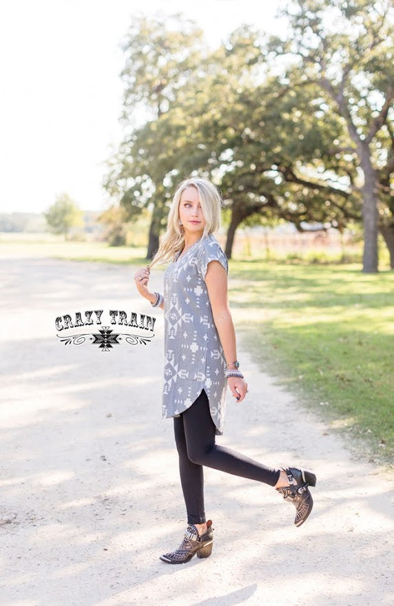La Vida Western Tunic - The Tillie Rose Boutique