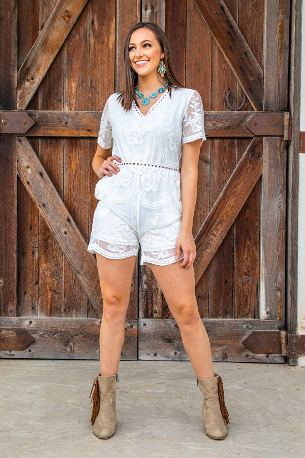 The Bridal Romper - The Tillie Rose Boutique