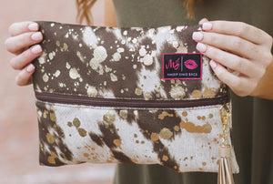 Rancher's Daughter Makeup Junkie Bag - The Tillie Rose Boutique