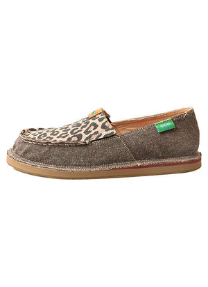Twisted X Women's Leopard Slip-on Loafers - The Tillie Rose Boutique
